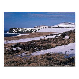 St. Paul Island Bird cliffs, Southwest Point Postcard