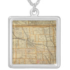 St Paul, Minneapolis and Manitoba Railway 2 Silver Plated Necklace