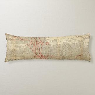 St Paul, Minneapolis and Manitoba Railway Body Pillow