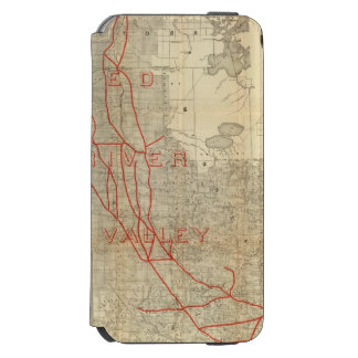 St Paul, Minneapolis and Manitoba Railway iPhone 6/6s Wallet Case