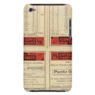 St Paul, Minneapolis and Manitoba Railway iPod Touch Case-Mate Case