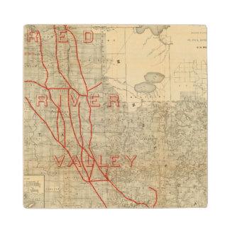 St Paul, Minneapolis and Manitoba Railway Wood Coaster