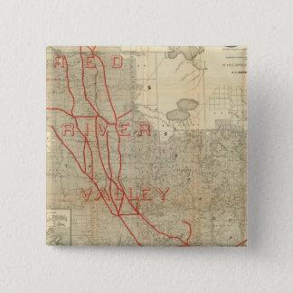 St Paul, Minneapolis and Manitoba Railway Pinback Button