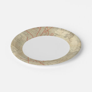 St Paul, Minneapolis and Manitoba Railway 7 Inch Paper Plate