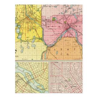 St. Paul, Minneapolis, Minnesota Post Cards