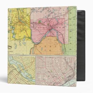 St. Paul, Minneapolis, Minnesota Vinyl Binder