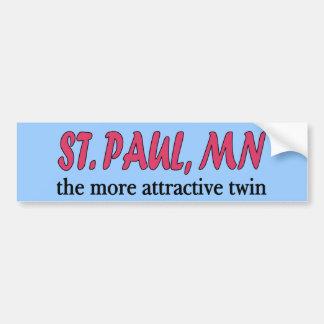 St. Paul Minnesota Bumper Sticker Car Bumper Sticker