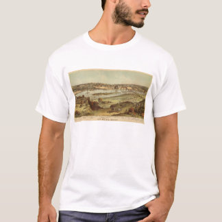 St. Paul, Minnesota Lithograph 2 T-Shirt