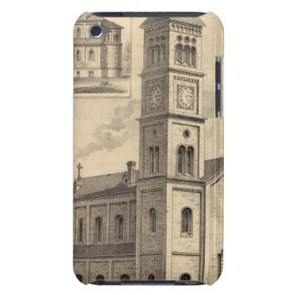 St. Paul, Minnesota Lithograph iPod Touch Covers