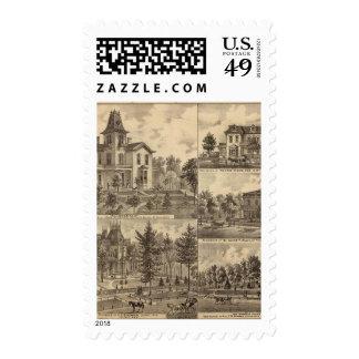 St. Paul, Minnesota Lithograph Postage Stamp