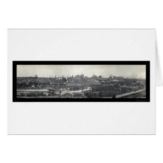 St Paul MN Skyline Photo 1915 Greeting Cards