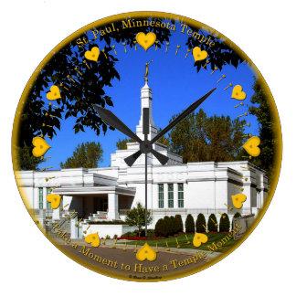 St. Paul, MN Temple Clock