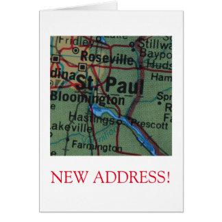 St Paul New Address announcement