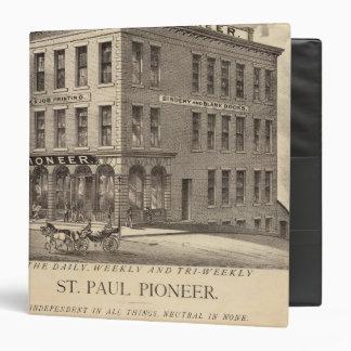 St. Paul Pioneer 3 Ring Binder