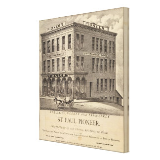 St. Paul Pioneer Canvas Print