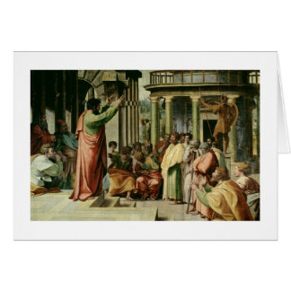 St. Paul Preaching at Athens (cartoon for the Sist Card