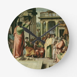 St. Paul Preaching at Athens (cartoon for the Sist Round Clock