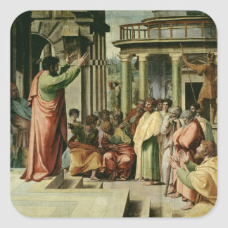 St. Paul Preaching at Athens (cartoon for the Sist Square Sticker