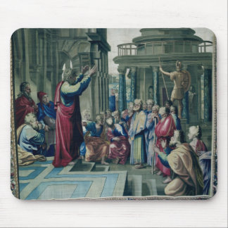 St. Paul Preaching at the Areopagus Mouse Pad