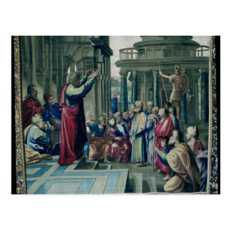 St. Paul Preaching at the Areopagus Post Card