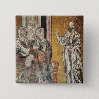 St. Paul Preaching to the Jews Pinback Button