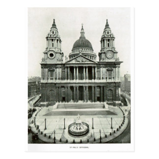 St Paul s Cathedral 1900 Post Cards