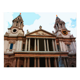 St Paul s Cathedral in London UK Postcards