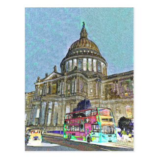 St Paul s Cathedral London Art Postcards