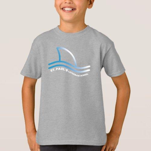 St Paul School Shark Fin T_Shirt