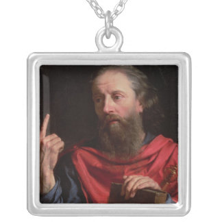 St.Paul Silver Plated Necklace