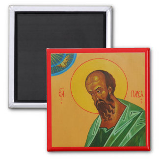 St Paul the Apostle Orthodox Icon Magnet