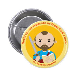 St. Paul the Apostle Pinback Button