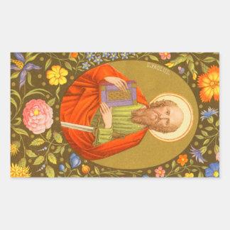 St. Paul the Apostle (PM 06) Rectangular Sticker