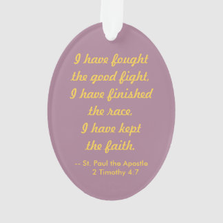 St. Paul the Apostle (PM 06a) Acrylic Ornament