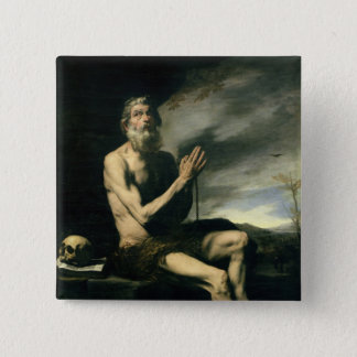 St. Paul the Hermit Pinback Button
