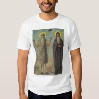 St Paul The Hermit With St Anthony The Great Tee Shirt