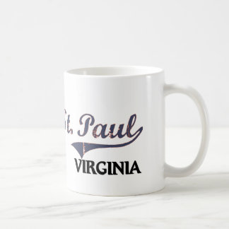 St. Paul Virginia City Classic Coffee Mugs