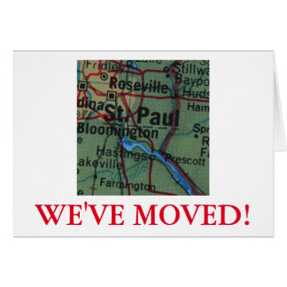 St Paul We've Moved address announcement