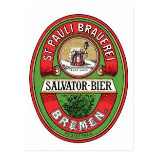 St. Pauli Brauerei Post Card