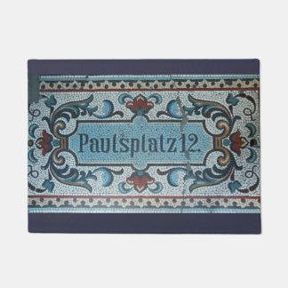 St. Pauli Hamburg Door Mat