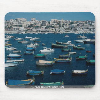St. Paul's Bay, northwestern Malta Mouse Pad