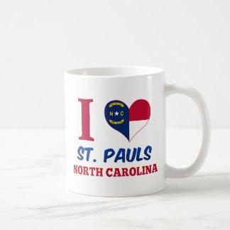 St Pauls Carolina del Norte Taza