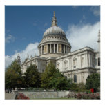 St-Pauls-Catedral-Londres Poster