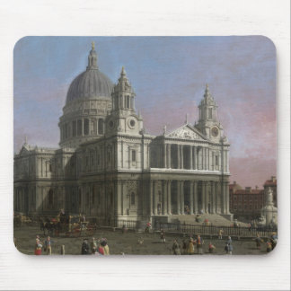 St. Paul's Cathedral, 1754 (oil on canvas) Mouse Pad