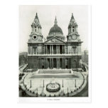 St Paul's Cathedral 1900 Postcard