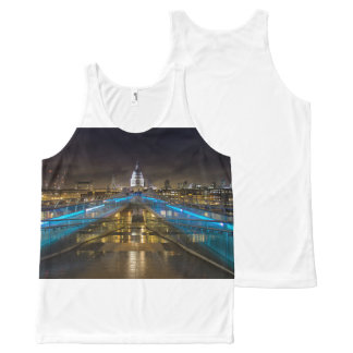 St Pauls Cathedral All-Over-Print Tank Top
