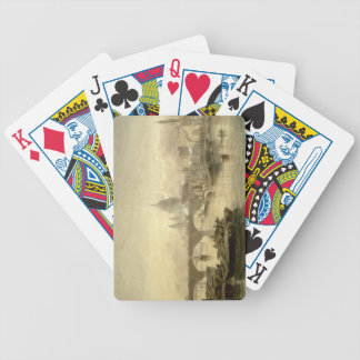 St. Paul's Cathedral and London Bridge from the Su Bicycle Playing Cards