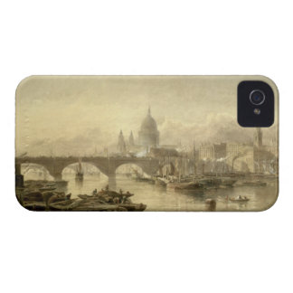 St. Paul's Cathedral and London Bridge from the Su iPhone 4 Case-Mate Cases