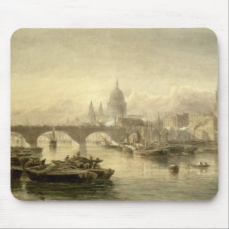 St. Paul's Cathedral and London Bridge from the Su Mouse Pad