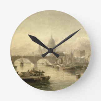St. Paul's Cathedral and London Bridge from the Su Round Wallclocks
